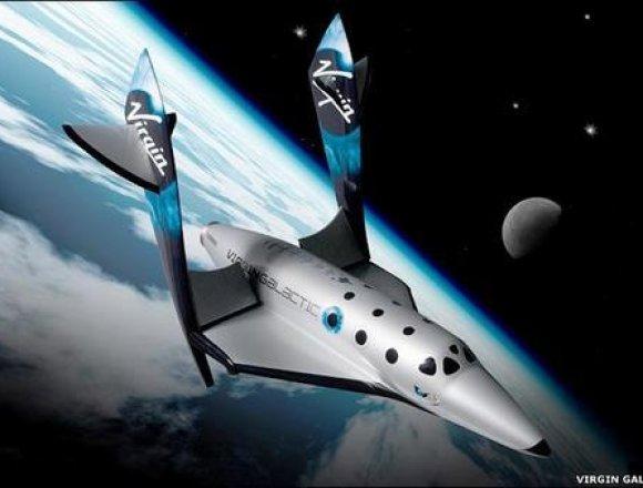 ヴァージンギャラクティック社宇宙船2